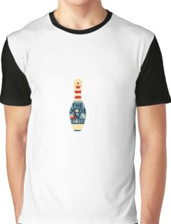 The Dude Bowling Pin Graphic T-Shirt
