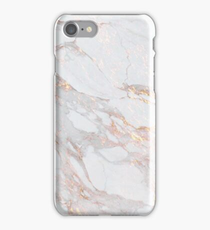 Chic Elegant Gold Marble Pattern iPhone Case/Skin