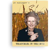 JD Salinger's Thatcher in the Rye Metal Print