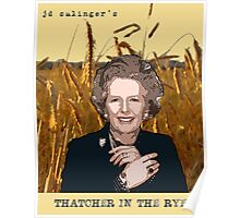 JD Salinger's Thatcher in the Rye Poster