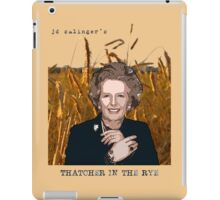 JD Salinger's Thatcher in the Rye iPad Case/Skin