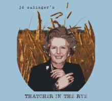 JD Salinger's Thatcher in the Rye by poppedculture