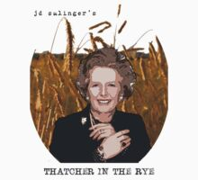 JD Salinger's Thatcher in the Rye Kids Tee