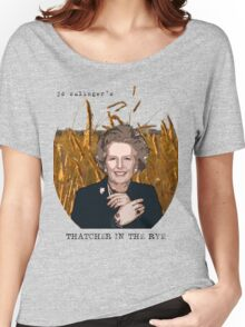JD Salinger's Thatcher in the Rye Women's Relaxed Fit T-Shirt