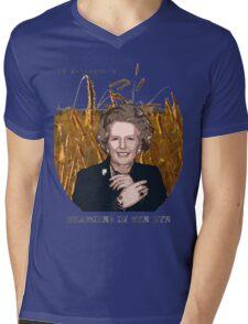 JD Salinger's Thatcher in the Rye Mens V-Neck T-Shirt