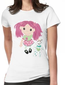 The Puppeteer Womens Fitted T-Shirt