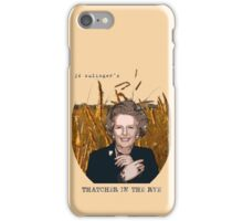 JD Salinger's Thatcher in the Rye iPhone Case/Skin