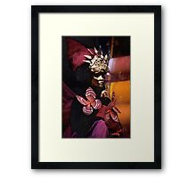 madame butterfly II Framed Print