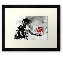 Inner Qi Workout Framed Print