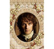 Jamie Fraser close-up Photographic Print