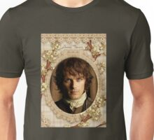 Jamie Fraser close-up Unisex T-Shirt