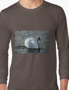 swan on the lake Long Sleeve T-Shirt