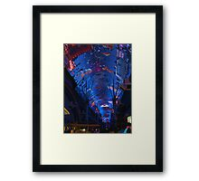 LAS VEGAS Freemont Experiance The Biggest Screen On The Planet - PILLOWS AND OR TOTE BAGS Framed Print