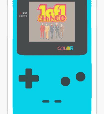"SHINee - ""1 of 1"" Game Console Design Sticker"
