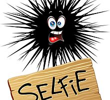 Selfie Fun Cartoon Face by BluedarkArt