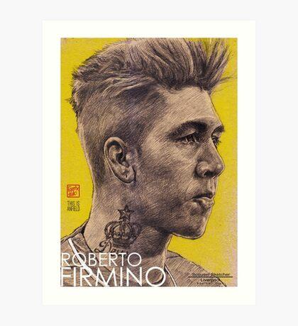 Roberto Firmino - Liverpool FC Art Print
