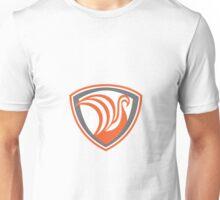 Swan Viking Ship Shield Retro Unisex T-Shirt
