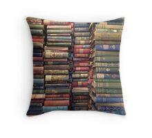 Glorious Victorian Books Throw Pillow