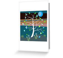 Summer Breeze Greeting Card
