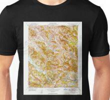 USGS TOPO Map California CA Briones Valley 288607 1949 24000 geo Unisex T-Shirt