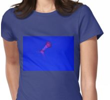 The Dance Of The Jellyfish Womens Fitted T-Shirt