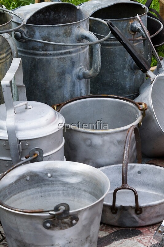 """old pots and pans"" Posters by spetenfia 