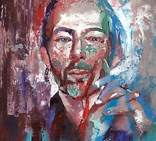 Thom Yorke by hazelong