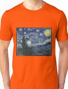 Vincent Van Gogh - The Starry night  Unisex T-Shirt