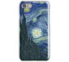 Vincent Van Gogh - The Starry night  iPhone Case/Skin