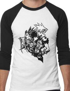 Sephiroth, Zack and Cloud Men's Baseball ¾ T-Shirt