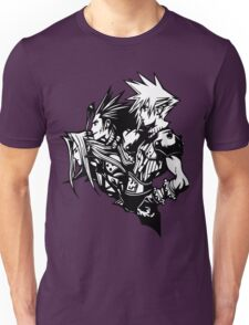 Sephiroth, Zack and Cloud Unisex T-Shirt