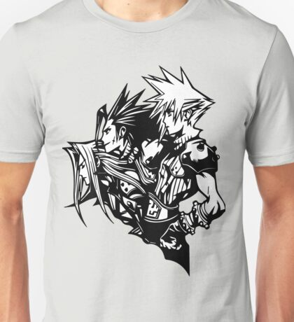 Sephiroth, Zack and Cloud Unisex T-Shirt