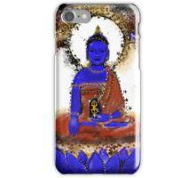 Akshobya, Blue Buddha of the Eastern Realm iPhone Case/Skin