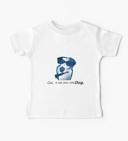 This is not a Dog Baby Tee