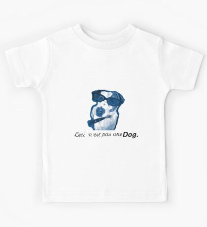 This is not a Dog Kids Tee
