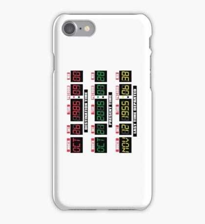 Back To The Tardis Panel iPhone Case/Skin