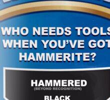 Who needs tools? Sticker