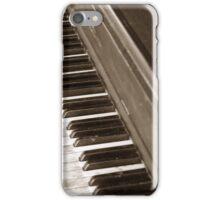 Black and white keys iPhone Case/Skin