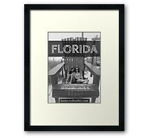 Boardwalk Beach Florida  Framed Print