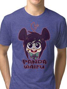 Panda Waifu Tri-blend T-Shirt