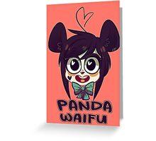 Panda Waifu Greeting Card