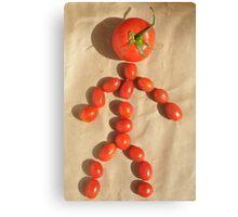 Mr. Tomato Canvas Print