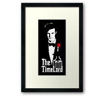 Doctor Who Godfather Framed Print
