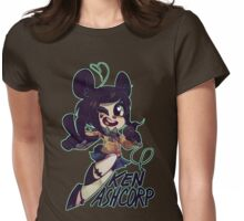 KEN ASHCORP Womens Fitted T-Shirt