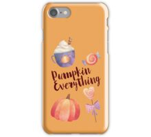 Pumpkin Everything iPhone Case/Skin