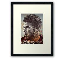 Alberto Moreno - Liverpool FC Framed Print
