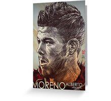 Alberto Moreno - Liverpool FC Greeting Card