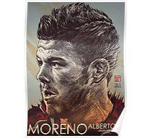 Alberto Moreno - Liverpool FC Poster