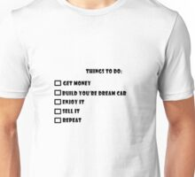 Things to do  Unisex T-Shirt