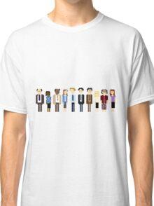 Office Pixel Cast - 10 - Horizontal  Classic T-Shirt